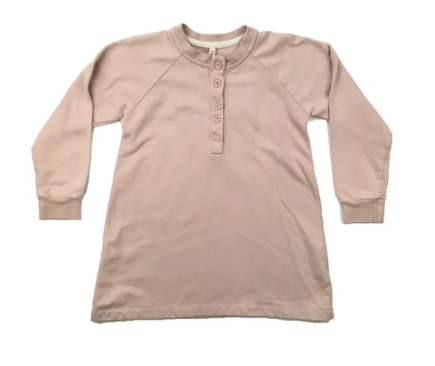 Grey Label pink 100% organic cotton dress - 3/4 yrs