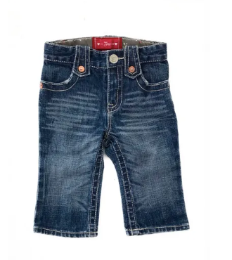 babyGap denim jeans - 6/12 mths