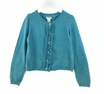 Monsoon turquoise cardigan - 7/8 yrs