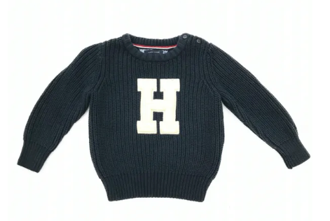 Tommy Hilfiger chunky knit jumper - 18/24 mths
