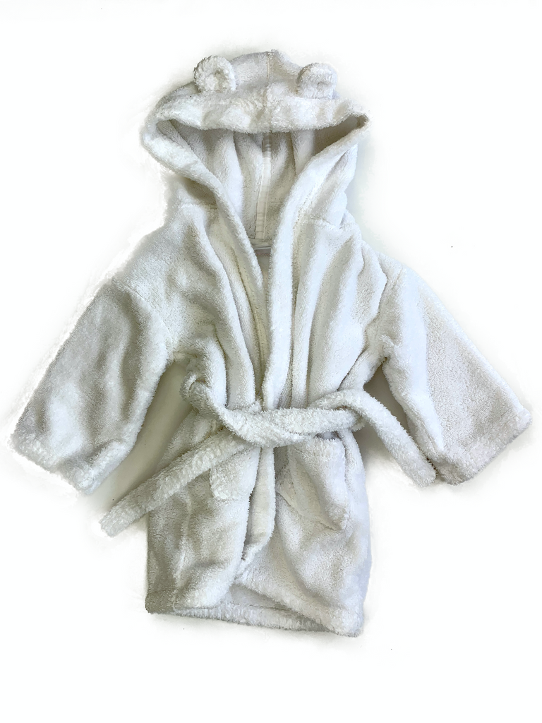 White Company Dressing Gown - 18/24 mths