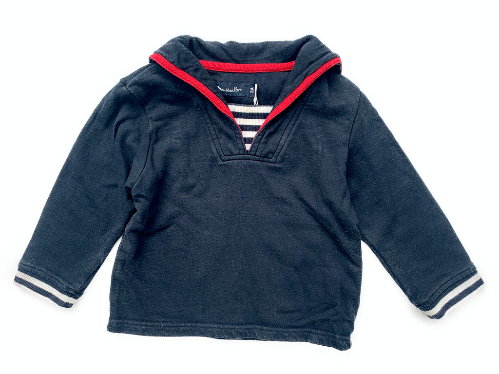 Moussaillon Sailor Style Jumper - 3 yrs