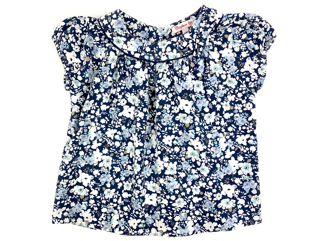 Confiture (by Trotters) Flower Blouse - 4/5 yrs