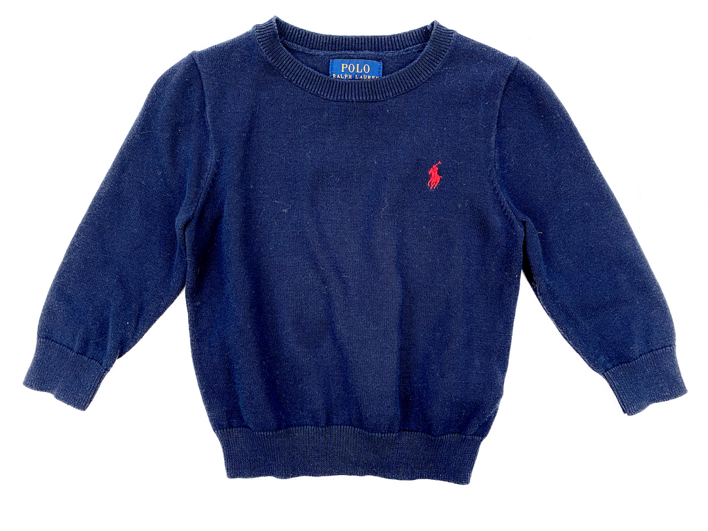 Ralph Lauren Round Necked Jumper - 2 yrs