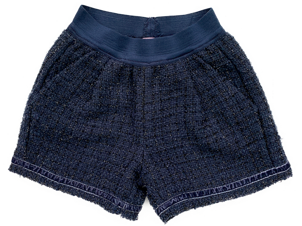 Copy of Mona Lisa Navy Shorts with Elasticated Waist - 8 yrs