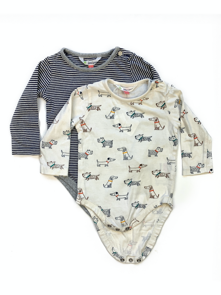 John Lewis Body Set - 0/3 mths