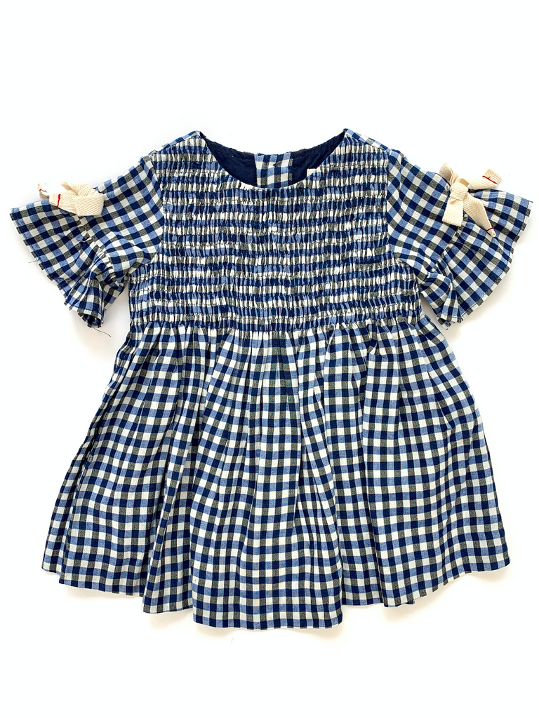 Zara gingham check dress - 9/12 mths
