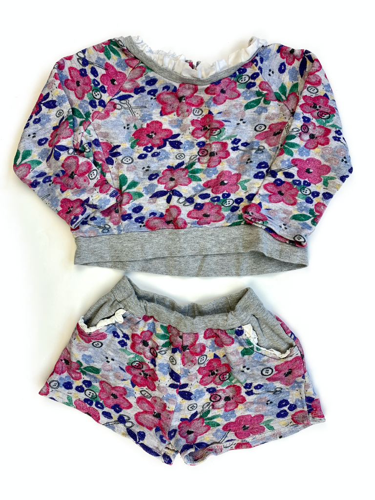Jam On Toast Top and Shorts Set - 7/8 yrs