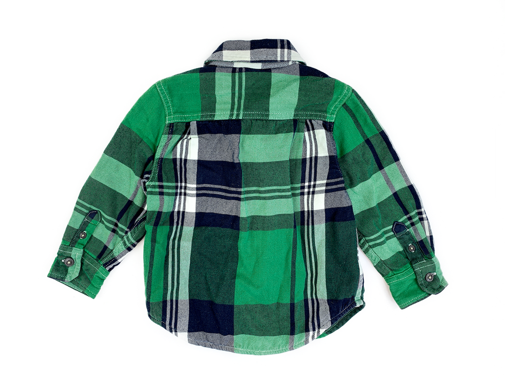 BabyGap Checked Lined Shirt - 2 yrs