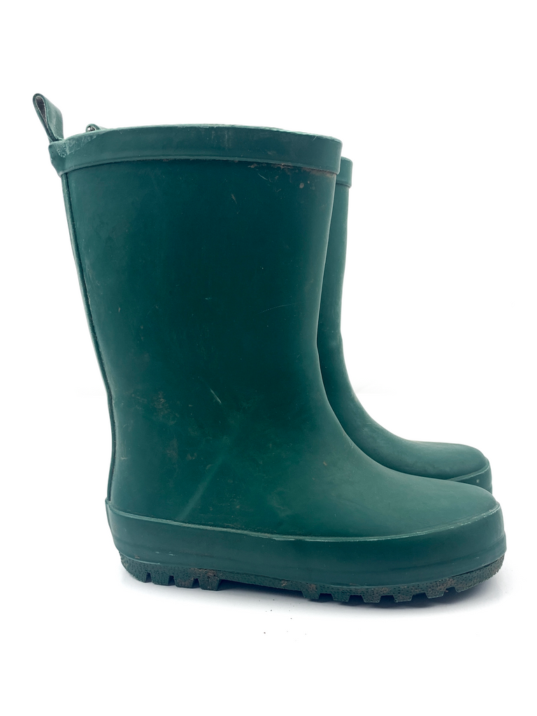 John Lewis Green Wellington Boots - 24