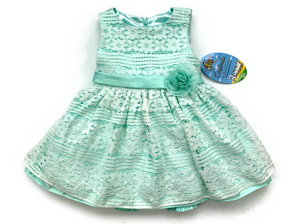 Cinderella by Special Occasions Lace Dress and Bloomers - 18 mths