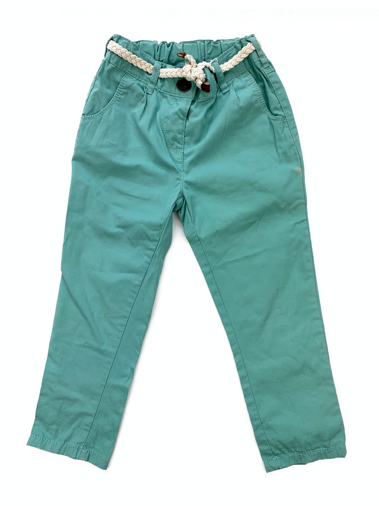 NEXT Green Trousers - 2/3 yrs
