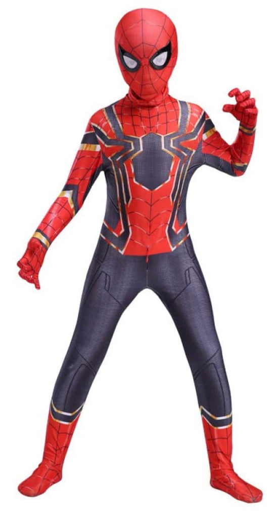Spider-Man Lycra Outfit - 5/6 yrs