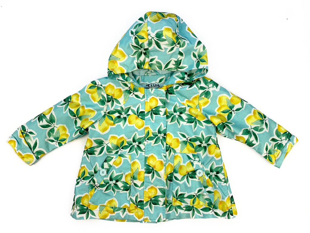 NEXT Lemon Print Raincoat - 18/24 mths