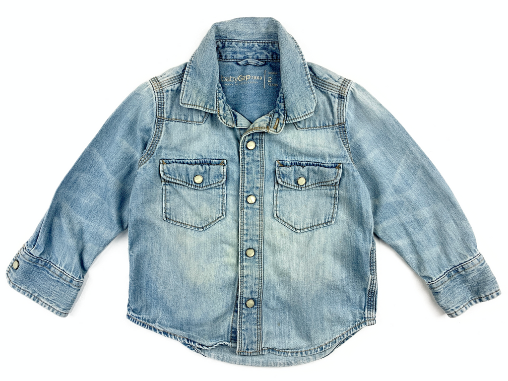 BabyGap Denim Shirt - 2 yrs
