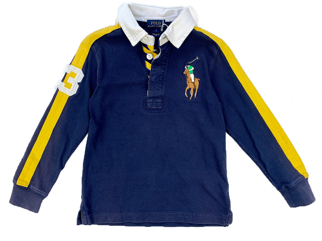 Ralph Lauren Long Sleeved Polo - 5 yrs