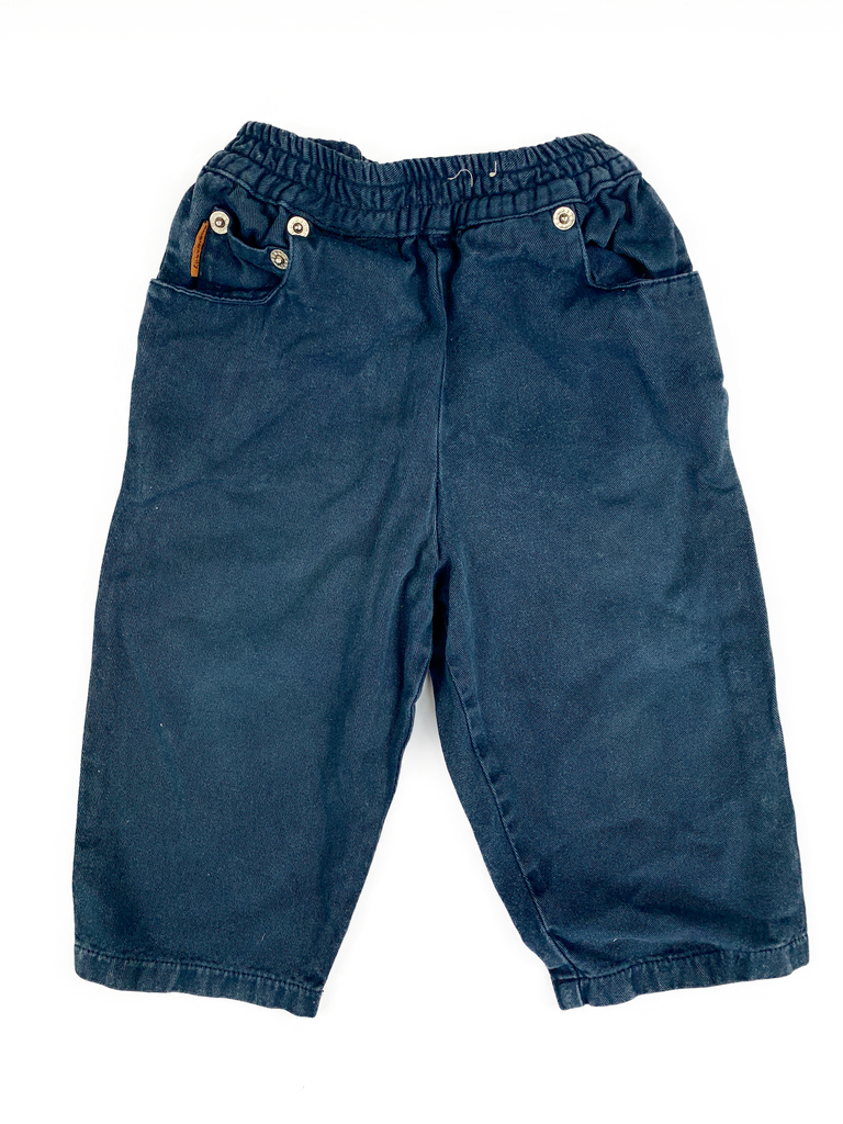 Dunwoody Navy Trousers - 12/18 mths