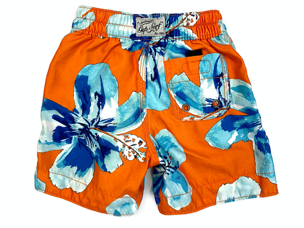 BabyGap Orange Swim Shorts - 6/12 mths