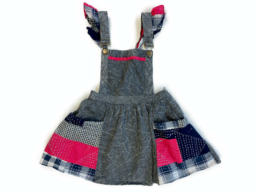 Jam On Toast Patchwork Dress - 7/8 yrs