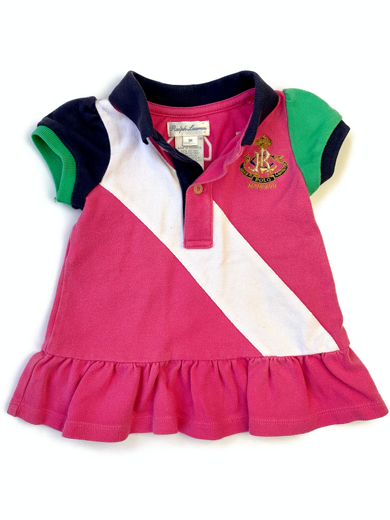 Ralph Lauren Polo Dress - 3 mths