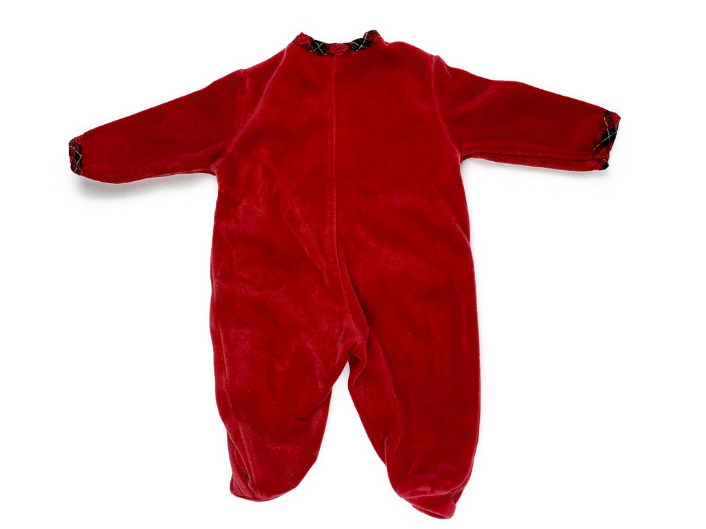 Prenatal New Baby Christmas Sleepsuit - 0/1 Mths
