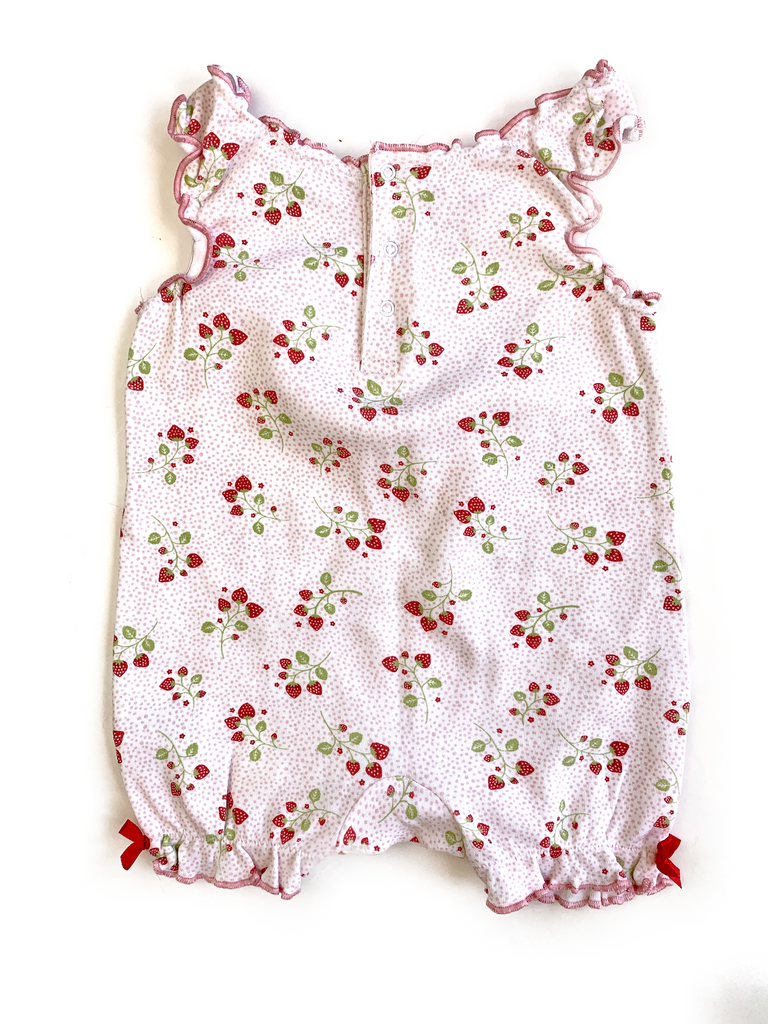 Blooming Marvellous Soft Cotton Romper - 3/6 mths