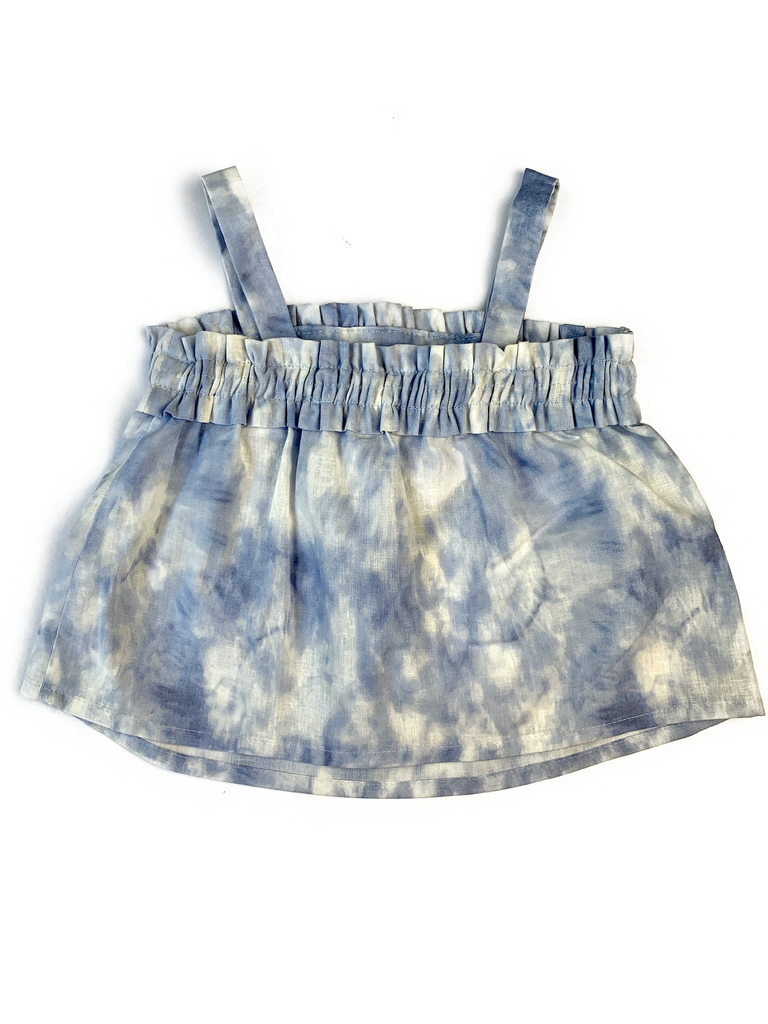 Zara Kids Tie Dye Top With Elasticated Back - 2/3 yrs