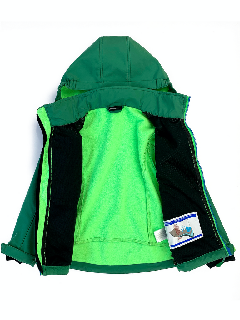 Trollkids Waterproof Jacket with Removable Hood - 5/6 yrs