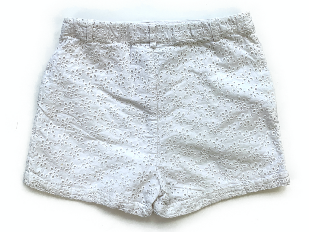 The Little White Company Shorts with Adjustable Waist - 7/8 yrs