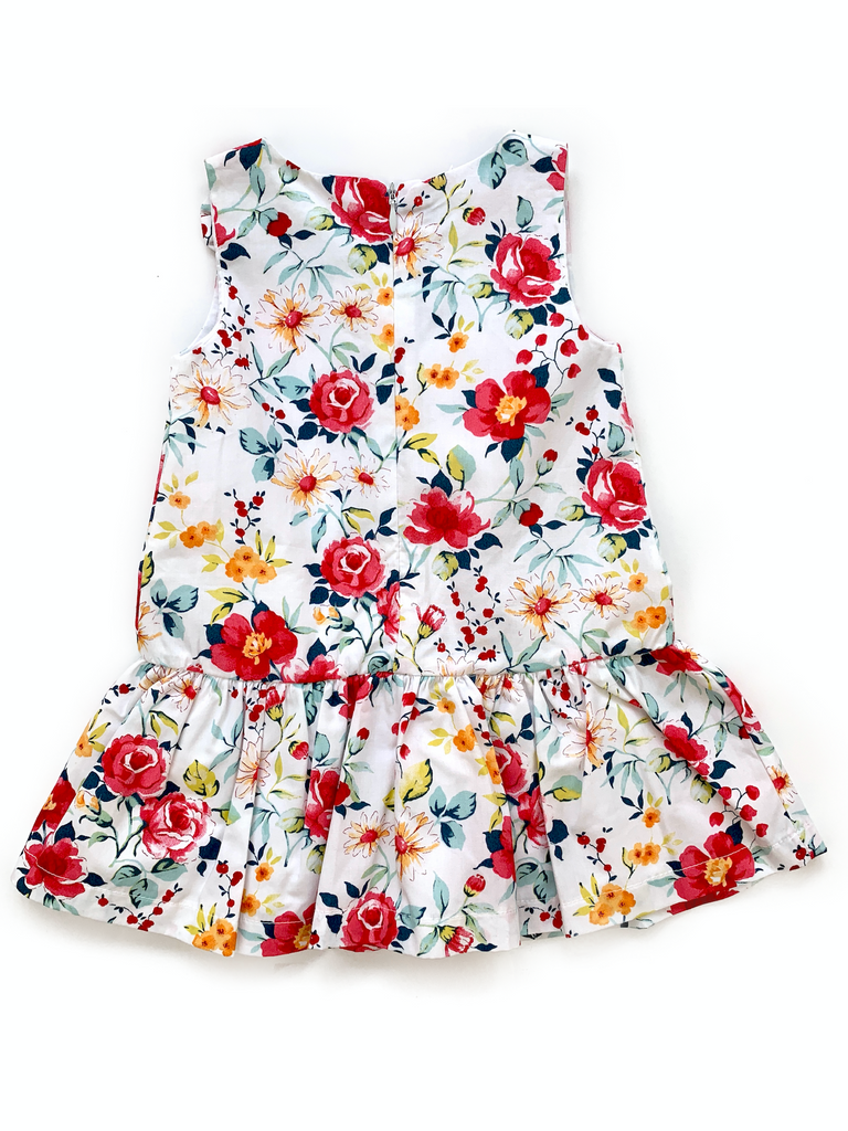 BabyBol Floral Dress - 12 mths
