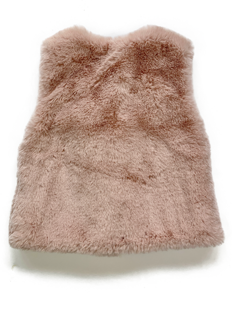 Zara Super Soft Faux Fur Gillet - 12/18 mths