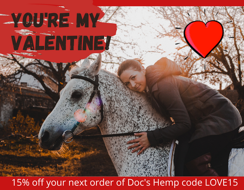 Save 15% on Doc's with CBD for horses & dogs
