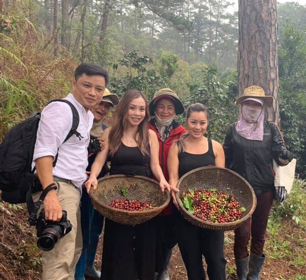 Omni team in Da Lat, Vietnam