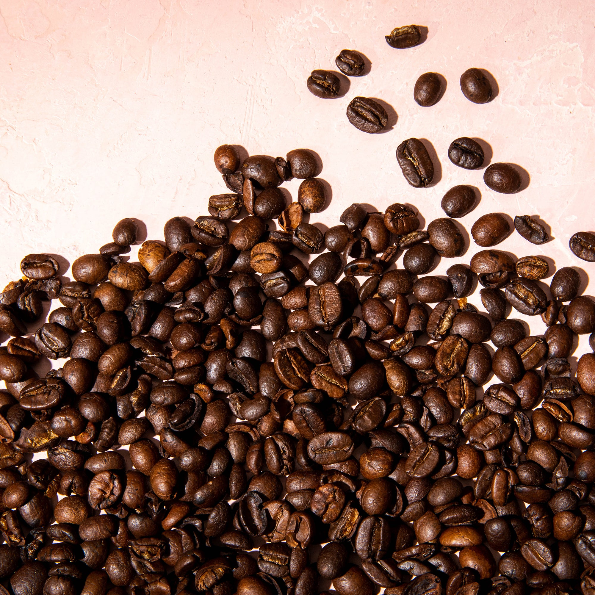 Arabica and Robusta Coffee Beans Roasted