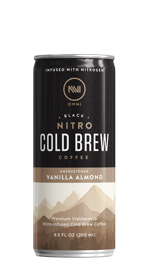 Vanilla Almond Nitro Infused Cold Brew Coffee