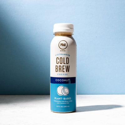 Coconut Plant-Based Cold Brew Coffee Pack of 6 - Omni
