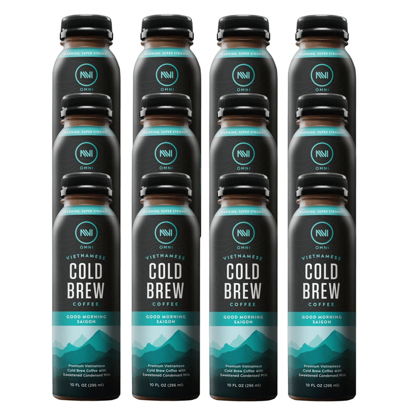 Good Morning Saigon Vietnamese Cold Brew Coffee Pack of 12 - Omni