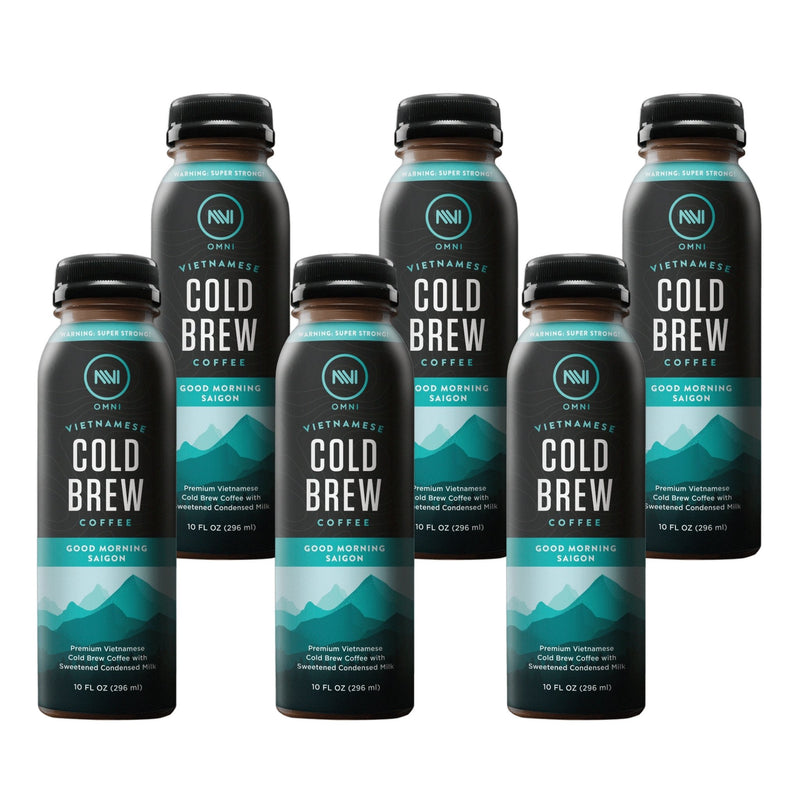 Good Morning Saigon Vietnamese Cold Brew Coffee Pack of 6 - Omni