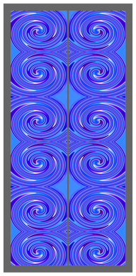 Big Swirl-Blue-Purple