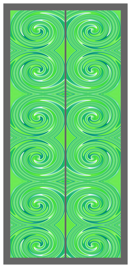 Big Swirl-Green