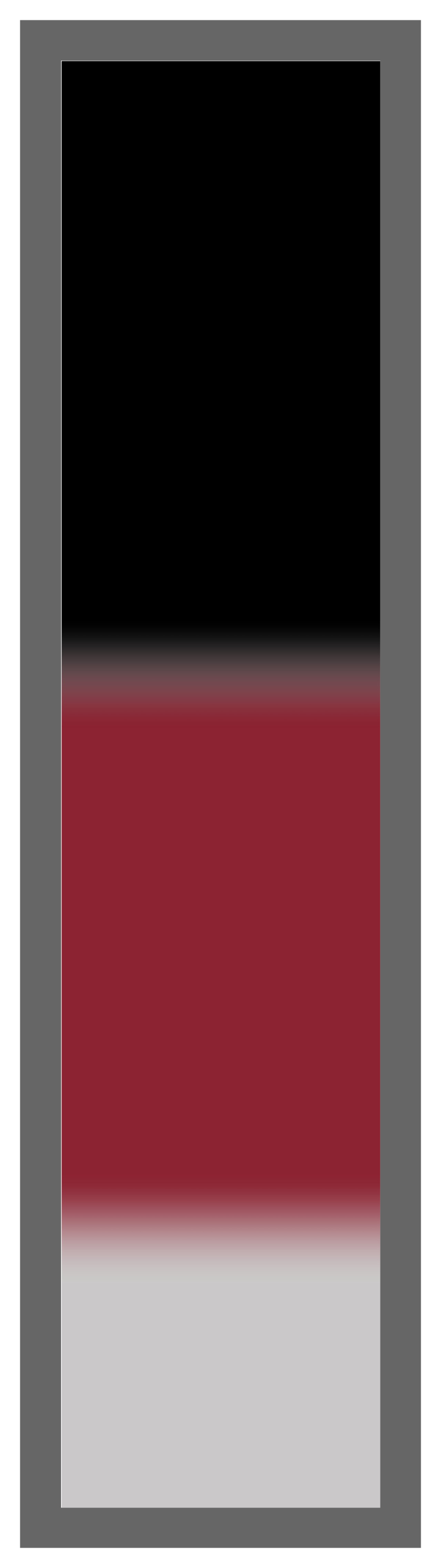 Black-Burgundy-Silver Ombre