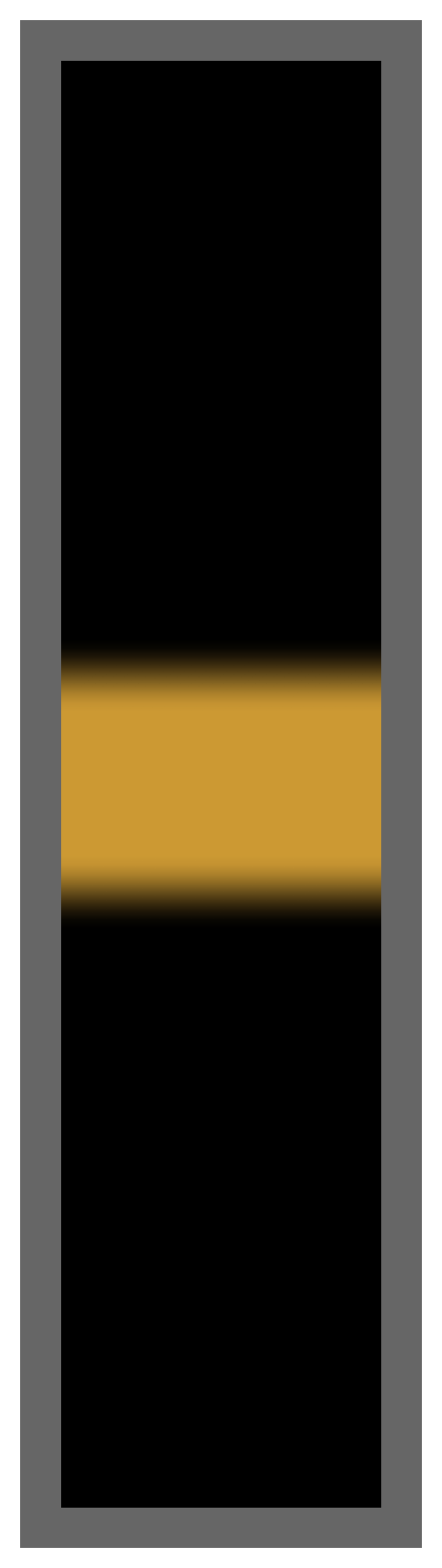 Black-Gold Center Tailless