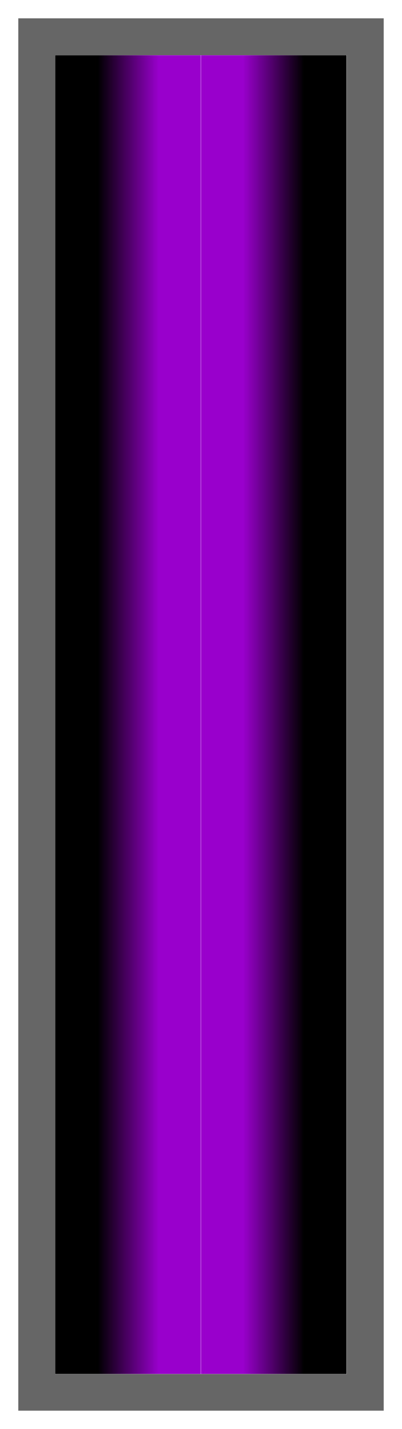 Black-Purple-Black Ombre Stripe