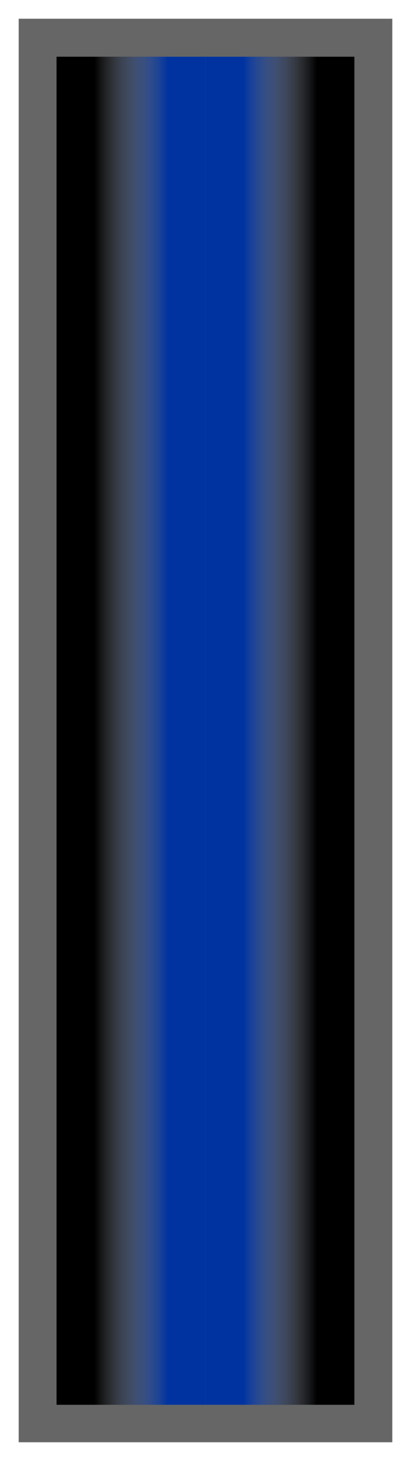 Black-Royal Blue-Black Ombre Stripe