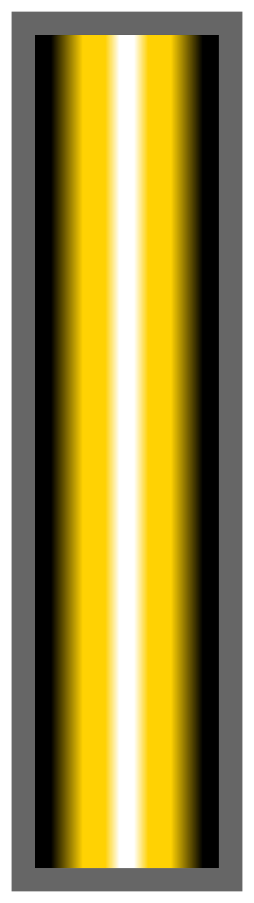Black-Sun Yellow-White Ombre Stripe