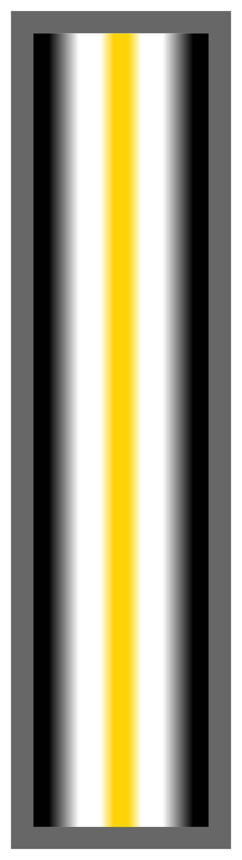 Black-White-Yellow Ombre Stripe