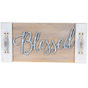 Blessed Wall Plaque