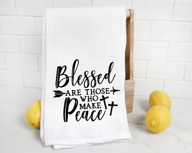 Blessed are those you make peace