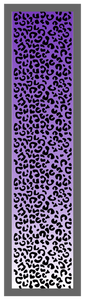 Cheetah Print-Purple Ombre