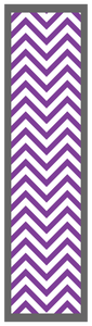 Chevron-Purple